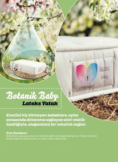 Hibboux Botanic Baby Pocket Yaylı Yatak 80x180 Cm Renkli